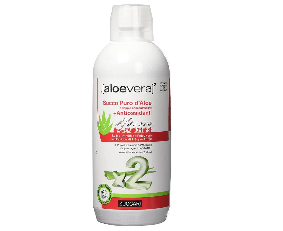 Aloe Vera per dimagrire - Zuccari succo di aloe vera 2